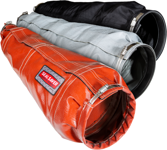 Hydraulic cylinder covers in three material options